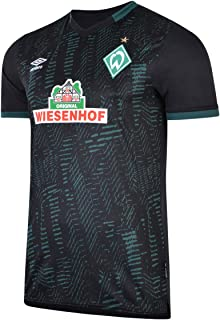 UMBRO Herren Werder Bremen 19/20 3rd Fußballtrikot schwarz XXL