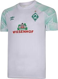 UMBRO Werder Bremen Auswärtstrikot 20/21 weiß