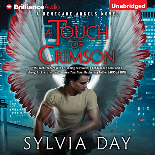 A Touch of Crimson audiobook cover art