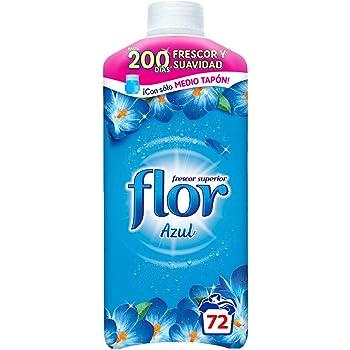 Flor Azul - Suavizante Concentrado para la Ropa, 70 lavados, 1472 ...