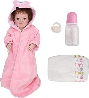 Reborn Baby Dolls, 55cm Full Body Baby Doll Toy, Symulacja Baby Doll Vinyl Realistyczne realistyczne Baby Dolls Reborn Tod...