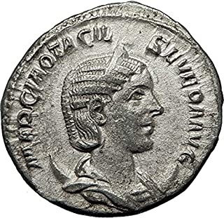 248 IT OTACILIA SEVERA wife of Philip I 248AD AR Ancient coin Good