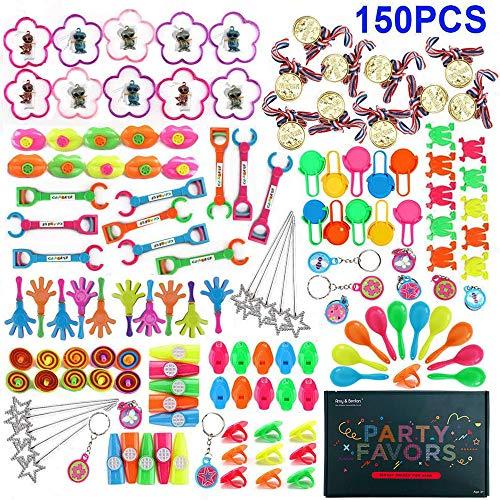 Amy&Benton 150 Stück Mitgebsel Kleinspielzeug für Kindergeburtstag Party,Pinata Spielzeug