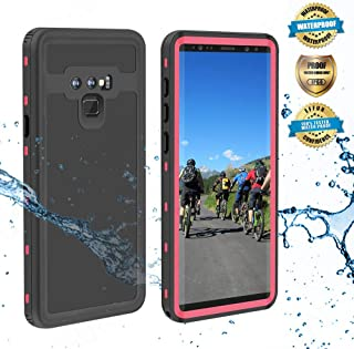EFFUN Samsung Galaxy Note 9 Waterproof Case, IP68 Certified Waterproof Shockproof Snowproof Dustproof Full Body Protection Underwater Cover with Built-in Screen Protector for Samsung Galaxy Note 9