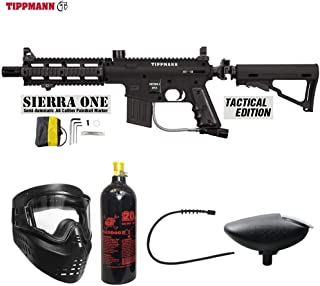 alpha black paintball gun