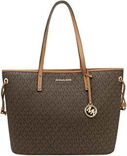 Michael Kors Large Drawstring Signature Tote Purse
