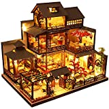 CuteBee DIY木製ドールハウス 雅泉の庭 ミニチュアコレクション プレゼント