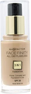 Max Factor Facefinity Foundation 3 in 1 65 Rose Beige 30ml
