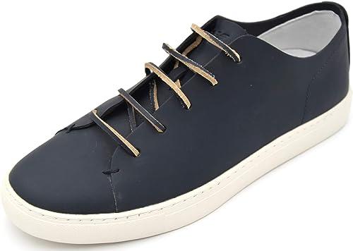 Armani jeans scarpa sneaker casual uomo in pelle C6527