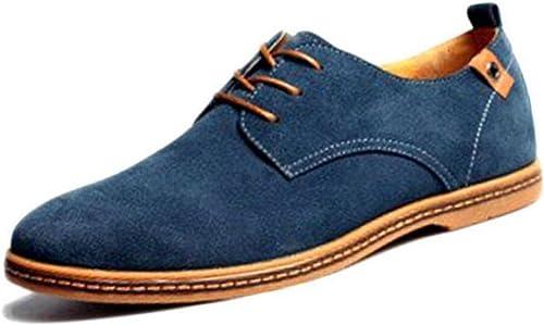 DHFUD Chaussures Décontracté en Daim pour pour Hommes Chaussures pour Hommes