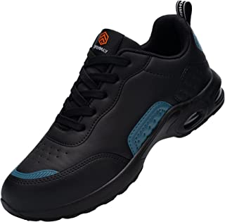 Zapatos de Seguridad Hombre Mujer,Zapatillas de Seguridad Hombre Zapatos de Trabajo Calzado de Trabajo con Punta de Acero ...