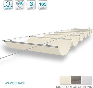 retractable pergola shade panels