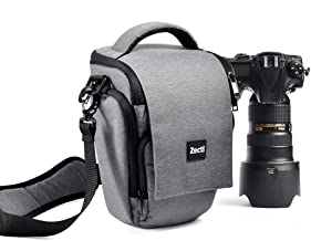 Zecti Soft Padded Camera Equipment Bag/Case for Nikon, Canon, Sony, Pentax, Olympus..