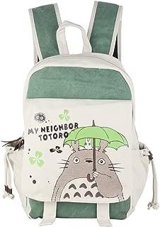 Anime Totoro Canvas Backpack Bag Rucksack School Bag
