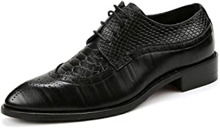 Men's Classic Fashion lace-up Shoes, Classic Oxford Dress lace-up Shoes