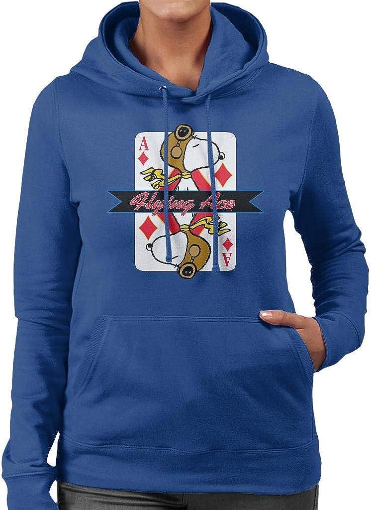Peanuts San Jose Mall Snoopy Flying Ace Women's Ranking TOP18 Sweatshirt Hooded