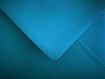 Ice Blue Envelopes Pearlescent C6 Gummed Flap 100gsm Pack of 25 by Cranberry