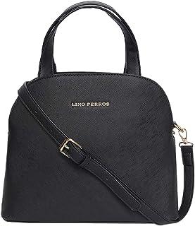 Lino Perros Womens Leatherette Hand Bag