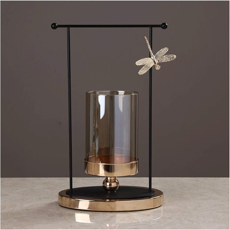 Taper Candle Overseas parallel import regular item Holder Metal Modern Candlestic Pillar OFFer