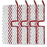 Recambios de microfibra lavables para mopa compatibles con almohadillas reutilizables Promist Max (4)