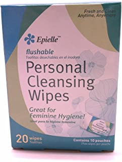 Epielle Personal Cleansing Wipes