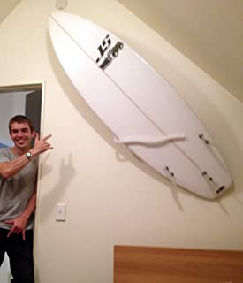 MOUNTiT Surfboard Wall Mount With Multiple Display Options, A Knockout Wall Feature.