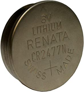 Renata CR2477N Lithium 3V Coin Cell Battery DL2477N BR2477N FAST USA SHIP by Exell Battery