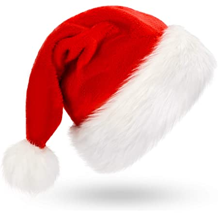 Yuanmeiju Weihnachtsm/ütze Starwars Christmas Christmas Hat Santa Hat Xmas Holiday Hat for Childrens and Adults Christmas New Year Festive Holiday Party Supplies Red