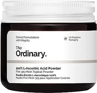 The Ordinary 100% L-Ascorbic Acid Powder Fine 325 Mesh Topical Powder w/Vitamin C