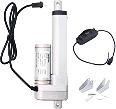 Recoil ELA18K 1500N//330lbs Linear Actuator 18 Inch DC 12V with Mounting Brackets and Momentary Switch Kit