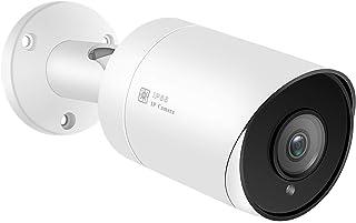 Cámara de Seguridad IP PoE Cámara Bala cámara Gran Angular con Lente de 2.8 mm detección de Movimiento 98 pies Ranura ...