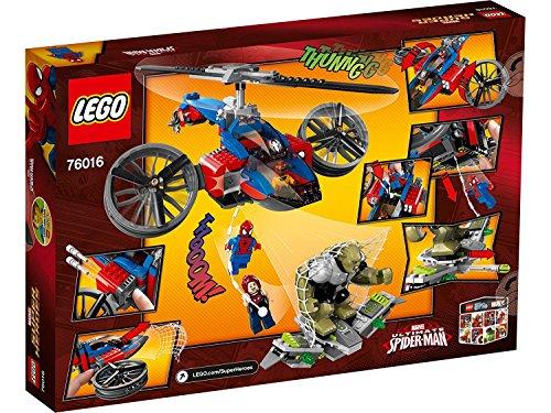 LEGO Super Heroes - Rescate en el helicóptero Araña (76016)