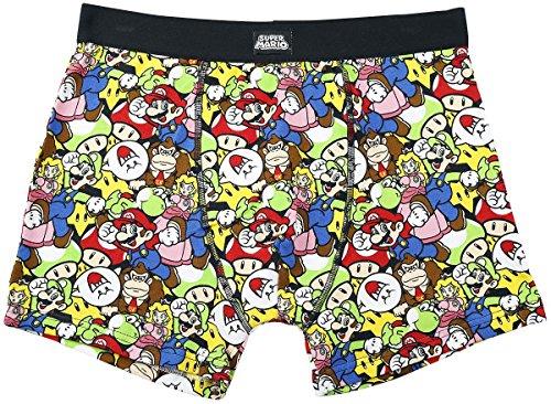 Nintendo Boxershorts -M- all over print