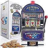 goods+gadgets one-armed bandit - slot machine con effetti sonori e luminosi da casinò.