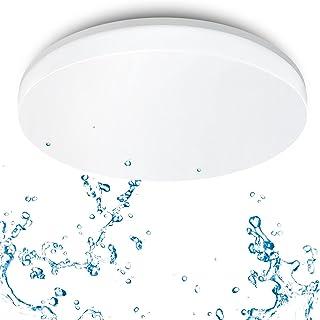 ANWIO 24W Plafonnier LED Lampe de Plafond LED Ultra Mince, 4000K Blanc Neutre, 2400Lm, 33 * 33cm.