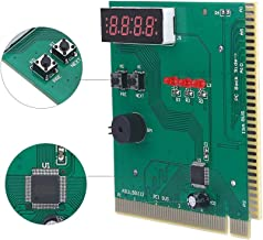 ASHATA PC Motherboard Diagnostic Card, 4-Digit Card PC Analyzer Computer Diagnostic Motherboard Post Tester for PCI & ISA Compatible Intel, AMD Motherboard