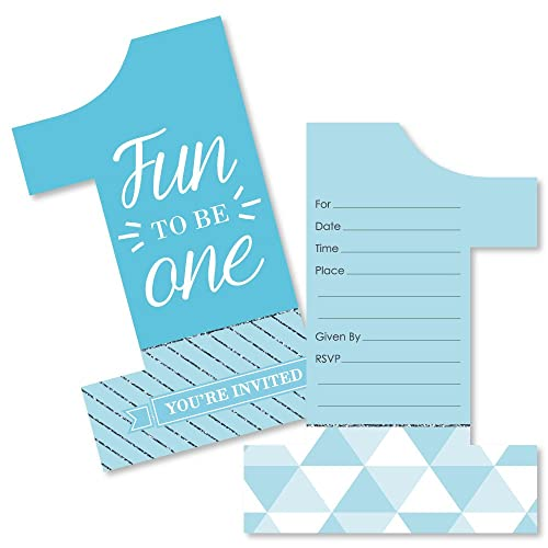 1st Birthday Invitations Amazon Com
