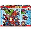 Educa - Marvel Super Heroe Adventures Conjunto de Puzzles…