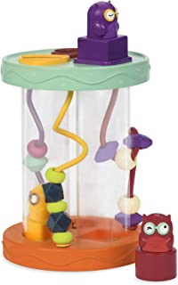 B. Toys – Shape Sorter – Hooty-Hoo – 3 Owls – 3 Colorful Shapes – Bead Maze & Wacky Sounds – Fun Game – Educational Toy for Toddlers & Babies
