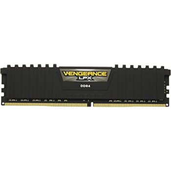Corsair Vengeance LPX 64GB (2X 32GB) DDR4 3200(PC4-25600) C161.35V Desktop Memory -Black