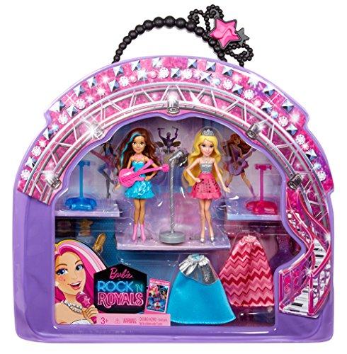 Barbie dans Rock N Royals Poupée et Vinyle Bag Ensemble-Cadeau