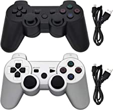 Ceozon PS3 Controller Wireless Playstation 3 Controller Bluetooth Gamepad for Playstation 3 Remote Joystick with Charging ...