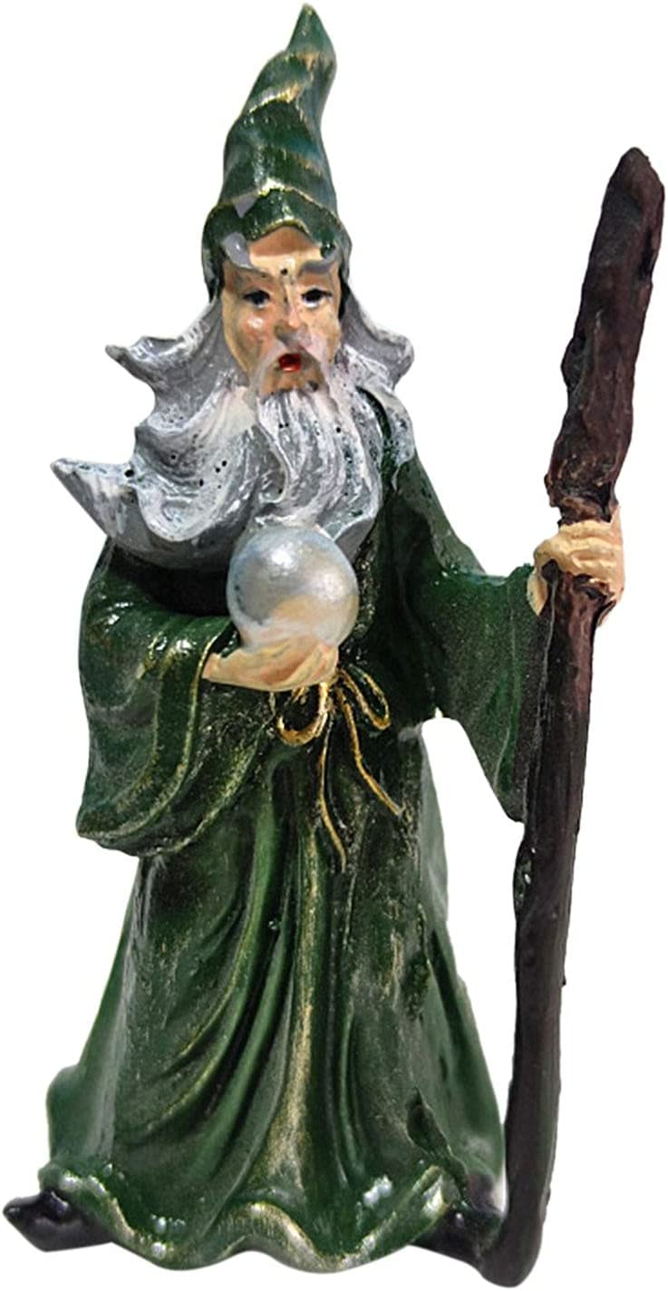 Resin Garden Max 80% OFF Statue Halloween Wizard Decoration Figurines Max 42% OFF Witch