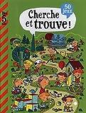 Mon grand livre de jeux - Cherche et trouve - Dès 5 ans