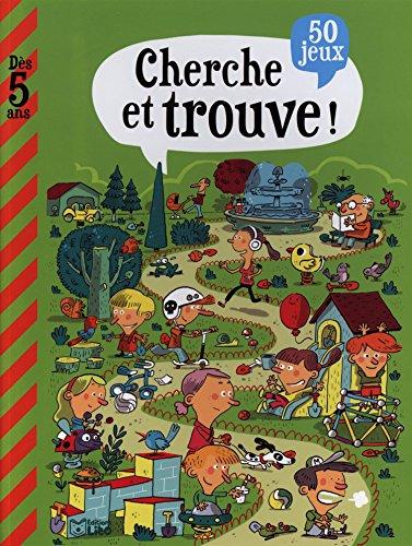 Mon grand livre de jeux: Cherche et trouve - Dès 5 ans