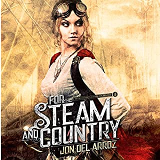 For Steam and Country audiobook cover art