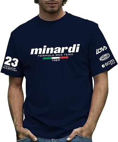 Producto oficial de 189 Minardi T-camiseta de Formula Retro 1 ...