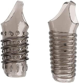 JINZHI Reuse Sleeve Enlargement Condoms Clock Rings