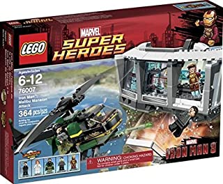 lego Lego 76007 Super Heroes Iron Man 364 piece [parallel import goods]