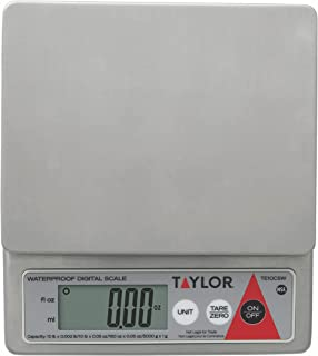 Taylor Precision Products Water Resistant Digital Portion Control Scale (10-Pound)
